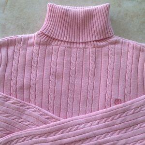 Izod Sweaters - Izod Turtleneck Cable Knit Sweater